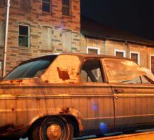 Rusty Car Sticker