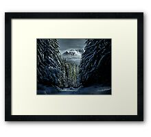 It's A Cold World ~ Three Fingered Jack ~ Framed Print