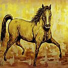 """""""The Golden Horse"""" by Susan Bergstrom"""