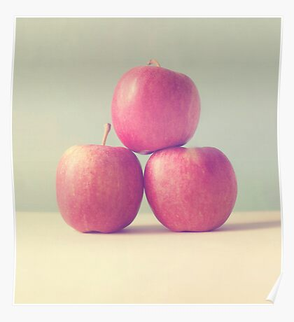 Apple Trio  Poster
