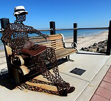 Scrap Iron Sculpture, Beachfront, Adelaide by DaveLambert