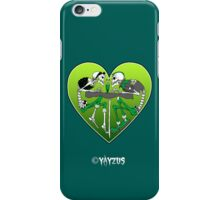 Psychobilly heart iPhone Case/Skin