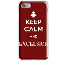 Keep Calm and Excelsior iPhone Case/Skin