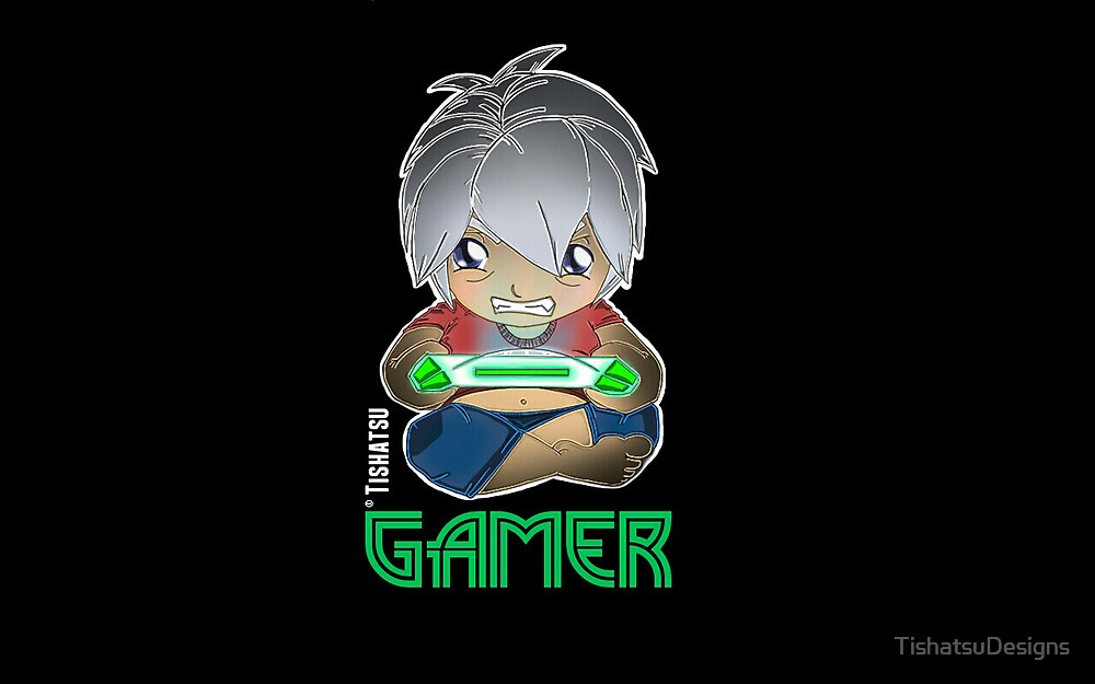 Gamer, GTA, RPG, Console, xbox, playstation, wii by TishatsuDesigns