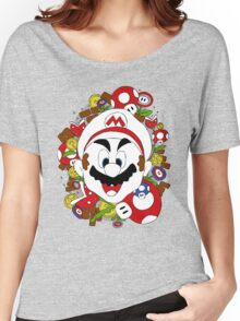 SuperMario a La Warhol Women's Relaxed Fit T-Shirt