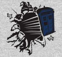Doctor Who T-Shirts & Hoodies by seazerka