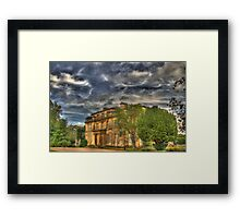 Normanby Hall HDR Framed Print