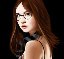 Dr Who's Amy Pond by jht888