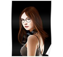 Dr Who's Amy Pond Poster