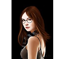 Dr Who's Amy Pond Photographic Print
