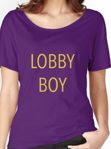 The Grand Budapest Hotel - Lobby Boy Women's Relaxed Fit T-Shirt