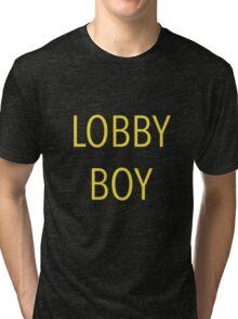 The Grand Budapest Hotel - Lobby Boy Tri-blend T-Shirt