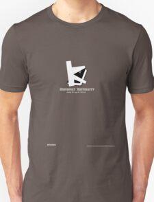 Kingsport University Tee Shirt (White Text) T-Shirt