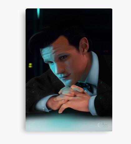 Dr Who Matt Smith Canvas Print