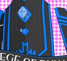 College of Dynamics Sticker