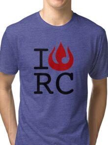 I love RC Tri-blend T-Shirt