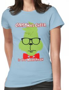 Hipster Grinch 2 Womens Fitted T-Shirt