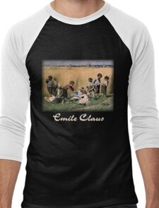 Emile Claus - On the Way to School Men's Baseball ¾ T-Shirt