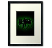 GreenKlok Framed Print