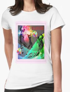 Melbourne International   Womens Fitted T-Shirt
