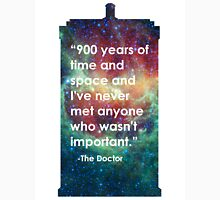 Doctor Who - 900 Years Unisex T-Shirt