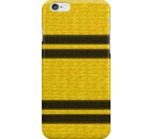 Knitted Scarf - Hufflepuff iPhone Case/Skin