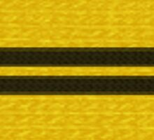Knitted Scarf - Hufflepuff Sticker