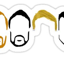 MDC Beards and Hair Sticker