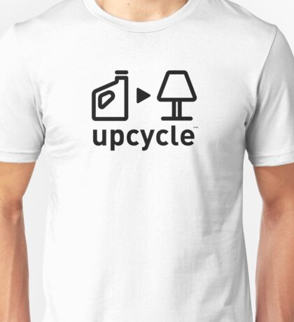 upcycle plastic cartons / black Unisex T-Shirt