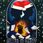 Miller & Hardy - Xmas Card (Broadchurch UK) by ifourdezign