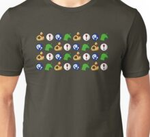 Animal Crossing Items 3 Unisex T-Shirt