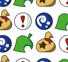 Animal Crossing Items 3 Sticker