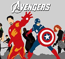 The Avengers by Sarah Hall