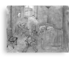 Robbing Van Gogh Canvas Print
