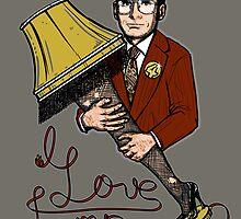 I Love Lamp!! by Onebluebird