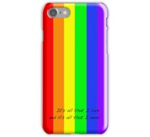 It's all that I love iPhone Case/Skin