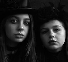 Goth Girls by leephotoofyork