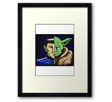 Trek Wars Framed Print