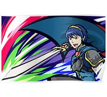 Marth | Dancing Blade Poster