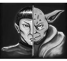 Trek Wars - B & W by MsMrMr