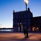 a photographer and a lamp by terezadelpilar~ art & architecture