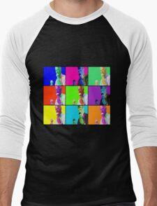 Joe Biden Ice Cream Pop Art Men's Baseball ¾ T-Shirt