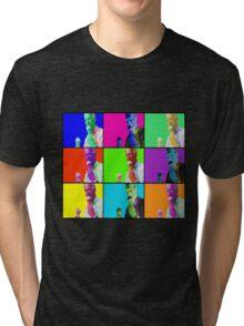 Joe Biden Ice Cream Pop Art Tri-blend T-Shirt