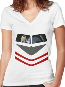 Otto Pilot - Airplane! Women's Fitted V-Neck T-Shirt