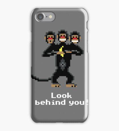 Three-Headed Monkey V2 iPhone Case/Skin