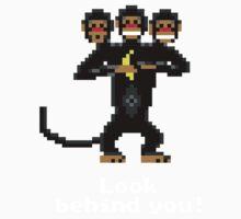 Three-Headed Monkey V2 One Piece - Short Sleeve