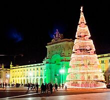 Christmas 2013 in Lisbon by terezadelpilar~ art & architecture