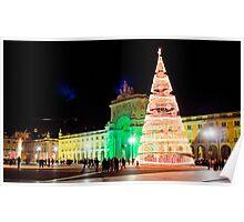Christmas 2013 in Lisbon Poster
