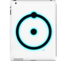 Blue hydrogen atom manhattan project iPad Case/Skin