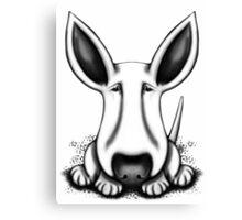 EBT Big Ear Dog  Canvas Print